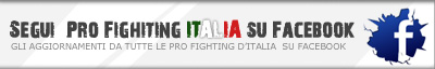 Pro Fighting Italia su Facebook